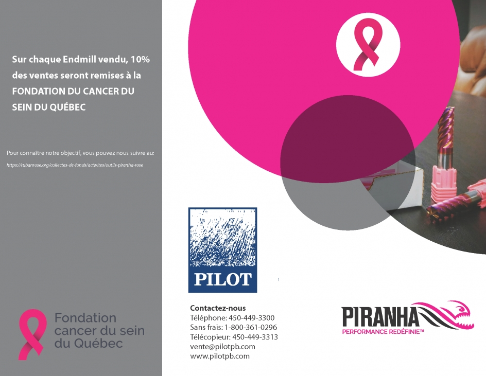 Promotion Piranha - cancer du sein